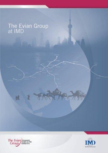 Evian Group brochure - IMD