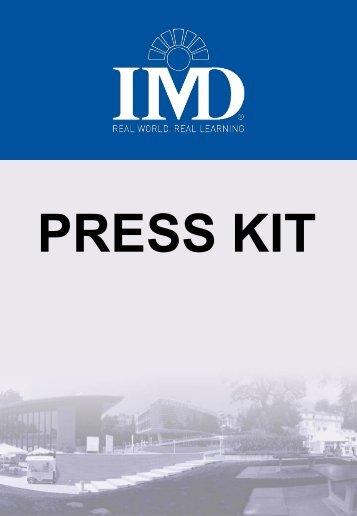 IMD Press Kit