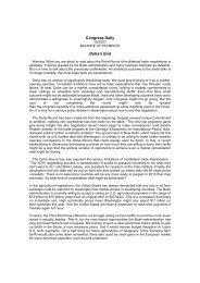 Congress Daily Doha's End - IMD