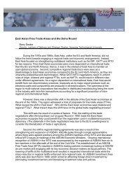 Evian Group Compendium – November 2002 East Asian Free ... - IMD