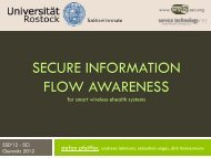SECURE INFORMATION FLOW AWARENESS