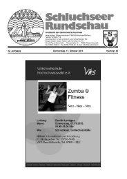 Rundschau Nr. 42.pdf - Gemeinde Schluchsee