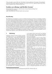 Synthese zuverlässiger und flexibler Systeme - Informatik 12