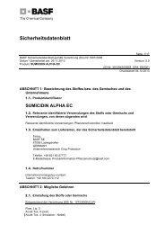 SDB Sumicidin Alpha EC - BASF Pflanzenschutz Deutschland