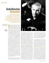 Schottischer Schocker - Die Deutsche Bühne