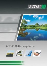 Broschüre laden - ME ACTIA GmbH