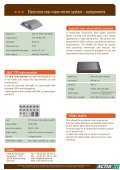 Product sheet download - ME ACTIA GmbH - Page 2