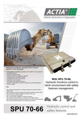 SPU 70-66 - ME ACTIA GmbH