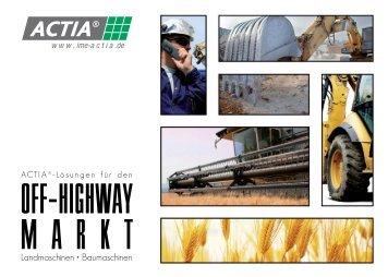 Broschüre laden - I+ME ACTIA GmbH