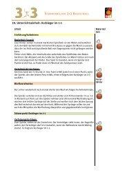 19. Unterrichtseinheit: Korbleger im 1-1 - Deutscher Basketball Bund