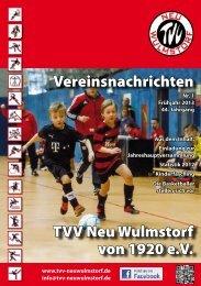 Vereinsnachrichten TVV Neu Wulmstorf von 1920 e.V.