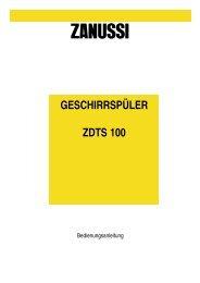 Zanussi ZDTS 100 - Akaflieg Graz