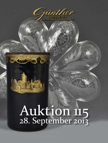 28. September 2013 - Kunstauktionshaus Günther in Dresden