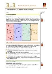 Korbleger 2 (Technikanwendung) - Deutscher Basketball Bund