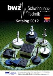 Katalog 2012 - BWZ-Schwingungstechnik