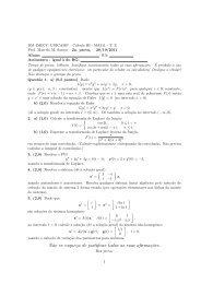 Prova 2 com gabarito - Unicamp