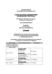 programme capacité med trop 2010 2011 - IMEA