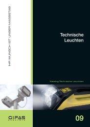 Hauptkatalog Technische Leuchten - GIFAS ELECTRIC GmbH