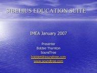 SIBELIUS EDUCATION SUITE