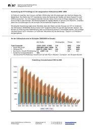 Resultate der ICT-Umfrage 2008, Download PDF - imedias