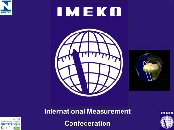 Future Developments of IMEKO in Non-governmental Cooperation ...