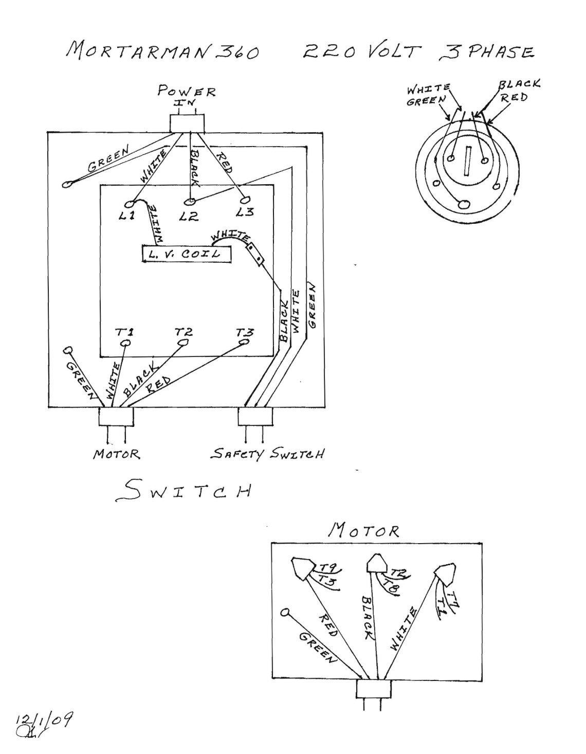 single phase ac motor wiring wiring diagram database 110-Volt Outlet Wiring Diagram 220 3 phase wiring diagram wiring diagram database single phase electrical 50 free magazines from imerusa