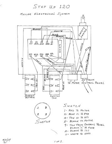 220v Schematic Key Contac