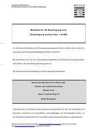 Merkblatt zur Genehmigung nach § 4 Energiewirtschaftsgesetz
