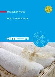 Imesa Dryers - Laundry Equipment