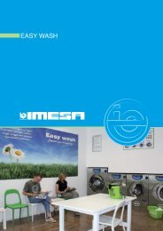 Scarica il catalogo EASY WASH - IMESA SpA