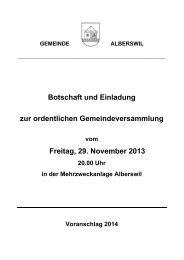 Budgetzahlen und Ausführungen - Ap-backoffice.ch