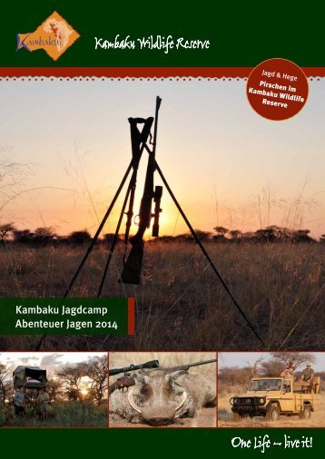 Kambaku Wildlife Reserve - Kambaku Safari Lodge in Namibia