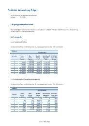 Netzentgelte Erdgas 2014 - E.ON Westfalen Weser