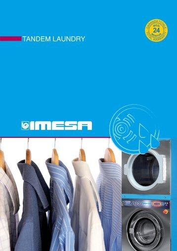Scarica il catalogo TANDEM LAUNDRY - IMESA SpA