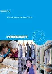 IMESA RADIO IDENTIFICATION SYSTEM - IMESA SpA