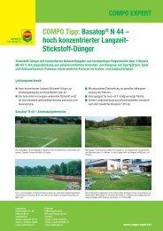 COMPO Tipp: Basatop® N 44 – hoch konzentrierter Langzeit ...