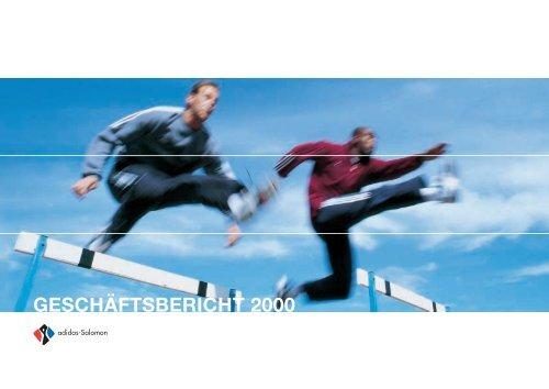 GESCHÄFTSBERICHT 2000 adidas Group