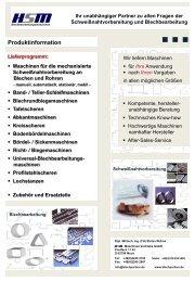 Produktinformation HSM - Branchenbuch meinestadt.de