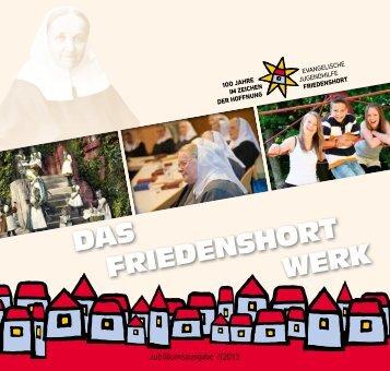 Das FrieDenshort werk - Evangelische Jugendhilfe Friedenshort