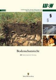 Bodenschutzrecht - Fachdokumente Online - Baden-Württemberg
