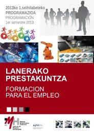 CATÁLOGO CURSOS 1º semestre 2013 en pdf - IMH