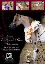 2010 Show Premium - Independent Miniature Horse Registry Inc.