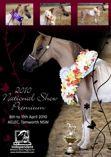 2010 Show Premium - Independent Miniature Horse Registry Inc.