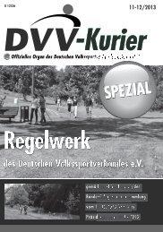 Regelwerk - Deutscher Volkssportverband eV