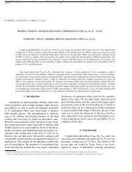 1. Introduction Amorphous or nanocrystalline metallic alloys have ...