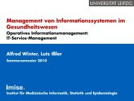 Operatives Informationsmanagement: IT-Service-Management
