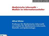 Zusammenfassung (167 kB, 10 Seiten) - Institut für Medizinische ...