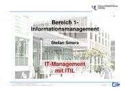 IT-Management mit ITIL