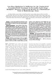 Low-Dose Radiation Is Sufficient for the Noninvolved Extended ...