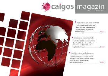 Perspektiven und Partner Liebe zur Liegenschaft ... - Caigos Gmbh